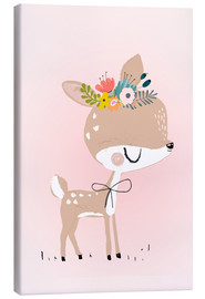Canvas print  Deer Rosalie - Kidz Collection