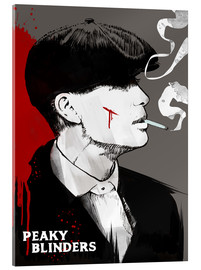 Acrylic print  Peaky Blinders - Tommy Shelby (Art Print) - 2ToastDesign