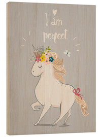 Wood  Perfect little unicorn - Kidz Collection