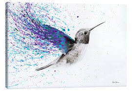 Canvas  Hummingbird Garden - Ashvin Harrison