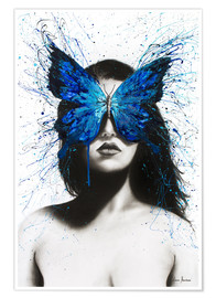 Premium poster Butterfly Mind