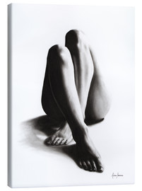 Canvas print  Nude study of the legs 42 - Ashvin Harrison
