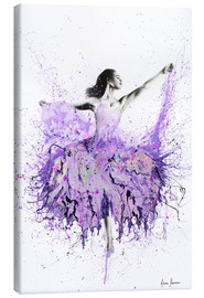 Canvas print  French Garden Ballet - Ashvin Harrison