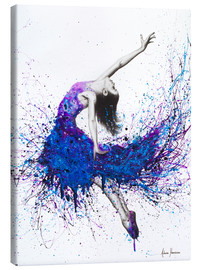 Canvas print  Evening sky dancer - Ashvin Harrison