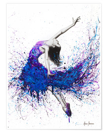 Premium poster  Evening sky dancer - Ashvin Harrison