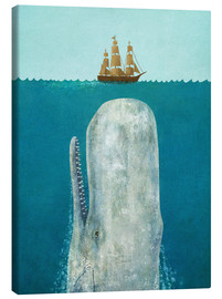 Canvas print  The whale - Terry Fan
