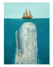 Premium poster  The whale - Terry Fan