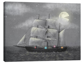 Canvas  Ghost ship - Terry Fan