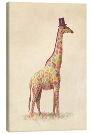 Canvas print  Fashionable giraffe - Terry Fan