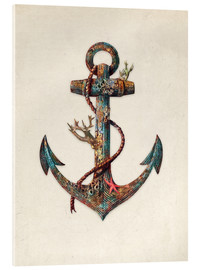 Acrylic glass  Reef anchor - Terry Fan