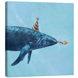 Canvas print  party whale - Terry Fan