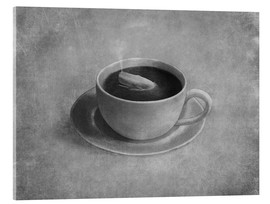 Acrylic print  Whale in a teacup - Terry Fan