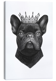 Canvas print  King French bulldog - Valeriya Korenkova