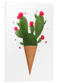Forex  Ice cream with cactus - Valeriya Korenkova