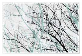 Premium poster  Pastel Branches 2 - Mareike Böhmer Photography