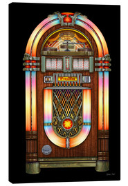 Canvas print  Vintage Jukebox - Michael Fishel