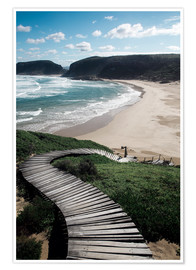 Premium poster  Robberg Nature Reserve, South Africa - Paul Kennedy