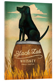 Acrylic print  Black Lab Whiskey - Ryan Fowler