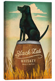Canvas  Black Lab Whiskey - Ryan Fowler