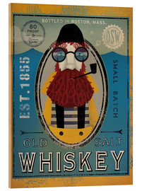 Acrylic print  Fisherman IV Old Salt Whiskey - Ryan Fowler