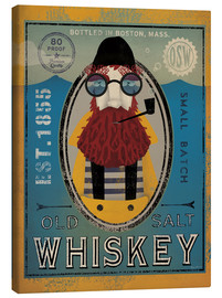 Canvas print  Fisherman IV Old Salt Whiskey - Ryan Fowler