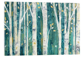 Acrylic glass  Birches in Spring - Julia Purinton