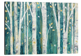 Aluminium print  Birches in Spring - Julia Purinton