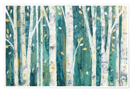 Julia Purinton - Birches in Spring