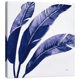 Canvas  Welcome to Paradise XI Indigo - Janelle Penner