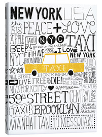 Canvas print  Typically NYC III - Michael Mullan