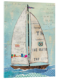 Acrylic glass  At the Regatta III - Courtney Prahl