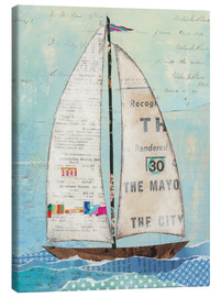 Canvas  At the Regatta III - Courtney Prahl
