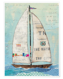 Premium poster  At the Regatta III - Courtney Prahl