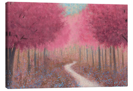 Canvas  Forest path in spring - James Wiens