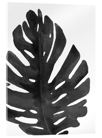 Acrylic glass  Monstera I
