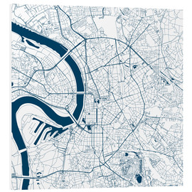 Forex  City map of Dusseldorf - 44spaces