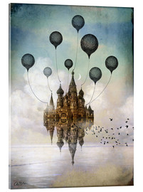 Acrylic print  Travel to the East - Catrin Welz-Stein