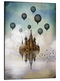 Aluminium print  Travel to the East - Catrin Welz-Stein