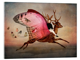 Acrylic glass  Enjoy the ride - Cathrin Welz-Stein