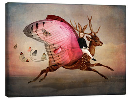 Canvas print  Enjoy the ride - Catrin Welz-Stein