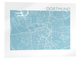 44spaces - City map of Dortmund