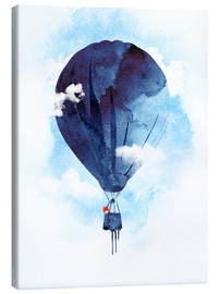 Canvas print  Fuchs flies away - Robert Farkas