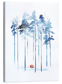 Canvas print  Sleeping in the woods - Robert Farkas