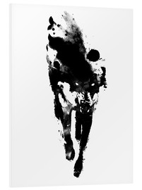 Foam board print  My presonal daemon - Robert Farkas