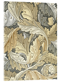 Acrylic print  Acanthus - William Morris