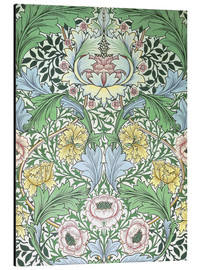 Aluminium print  Myrtle - William Morris
