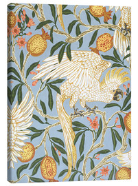 Canvas print  Cockatoo and Pomegranate - Walter Crane