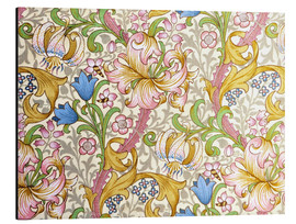 Alu-Dibond  Golden lily - William Morris