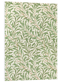 Foam board print  Willow - William Morris