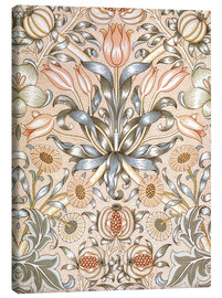 Canvas  Lily and Pomegranate - William Morris